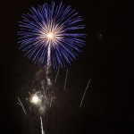 Fotografiando fuegos artificiales
