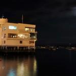 La noche en la Bahía de Santander