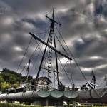 Balsa de la Kon-Tiki en la Península de la Magdalena