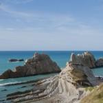 Playa de Arnia: Como en el Caribe