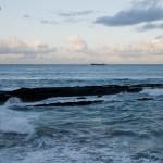 Entre la Playa del Camello y la Primera del Sardinero