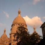 Basílica del Sagrado Corazón de Montmartre en Paris