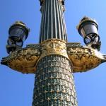 Plaza de la Concordia y la Torre Eiffel