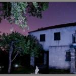 Fotografía nocturna con el cielo de Segovia