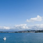 Costa de Santander desde Cabo Menor y Península de Mataleñas