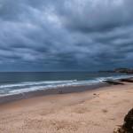 Se avecina tormenta en la Playa de Valdearenas