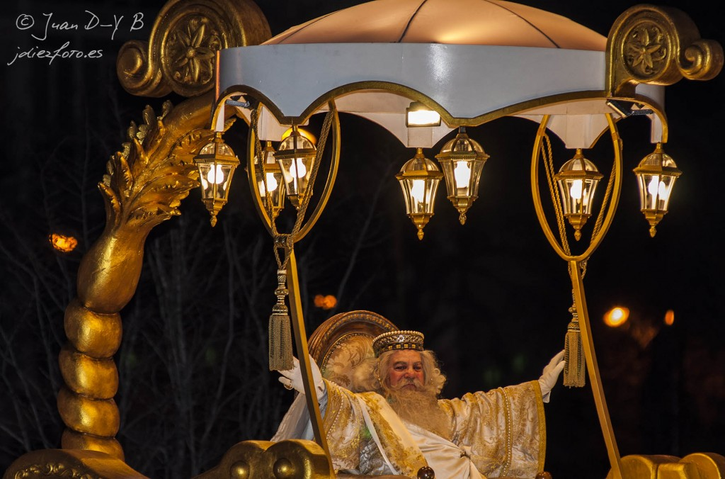 Cabalgata de Reyes Magos Melchor