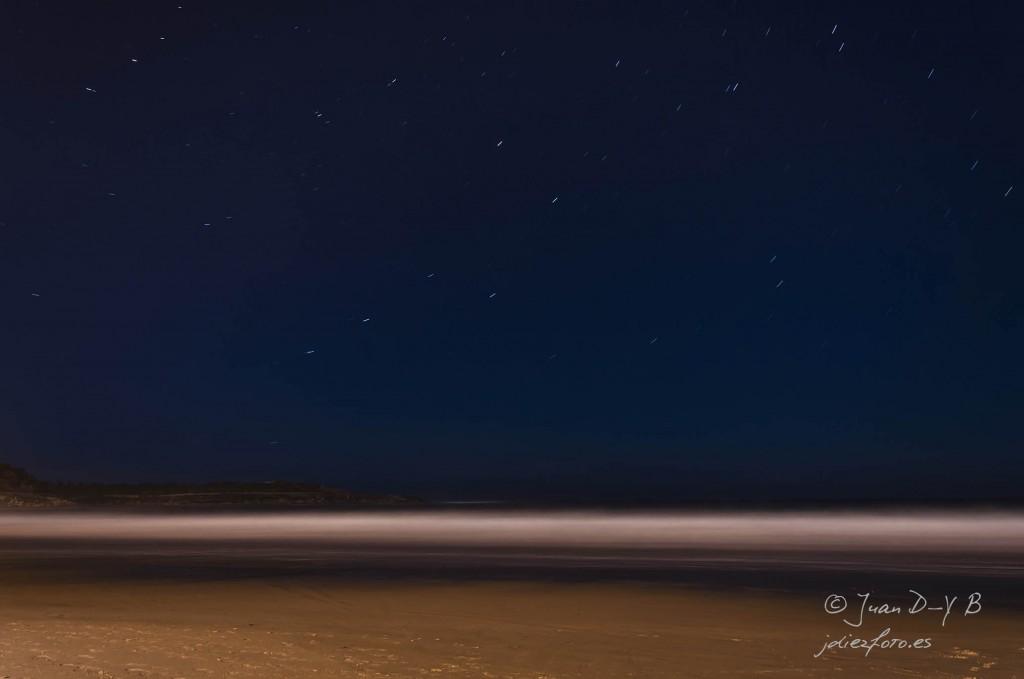 Estrellas sobre la orilla del Sardinero