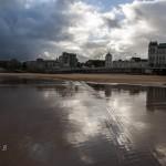 Reflejos en la Playa del Sardinero