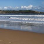 Disfrutando de un paseo por la Playa del Sardinero