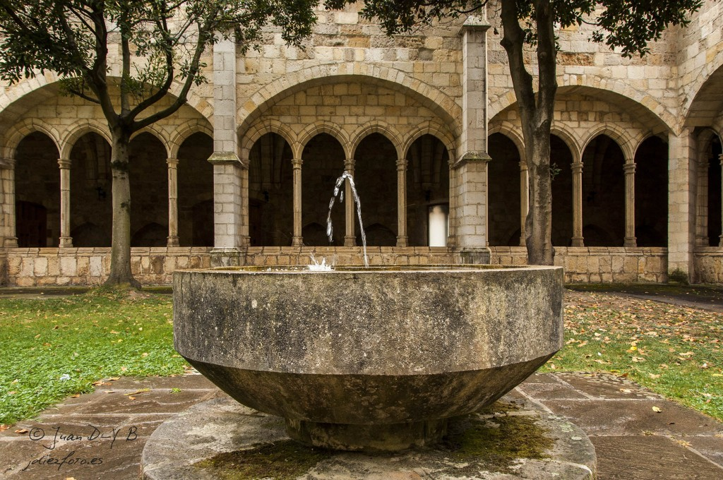 Fuente del Claustro de la Catedral de Santander