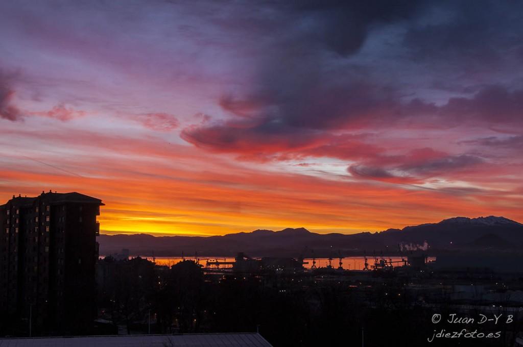 Amanecer de Invierno en Santander
