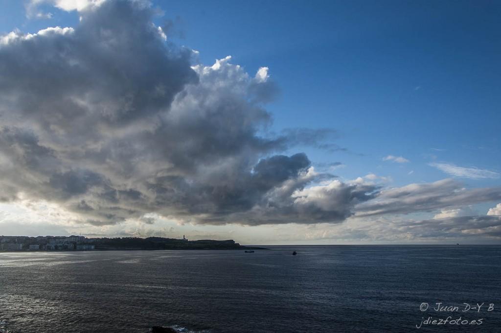Nubes sobre Cabo Menor