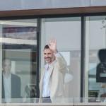 Su Majestad el Rey Don Felipe VI con los regatistas del Mundial de Vela 2014
