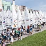 Falta de Viento en la tercera jornada del Mundial de Vela 2014