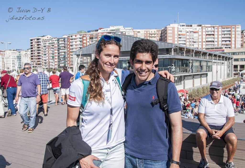 Mundial de Vela 2014. Berta Betanzos