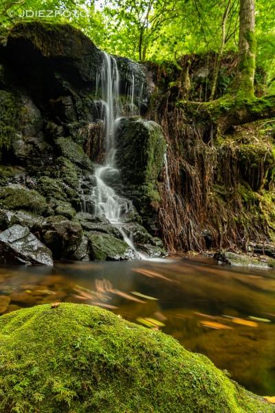 Cascada en la Senda Fluvial del Canal de Tejera