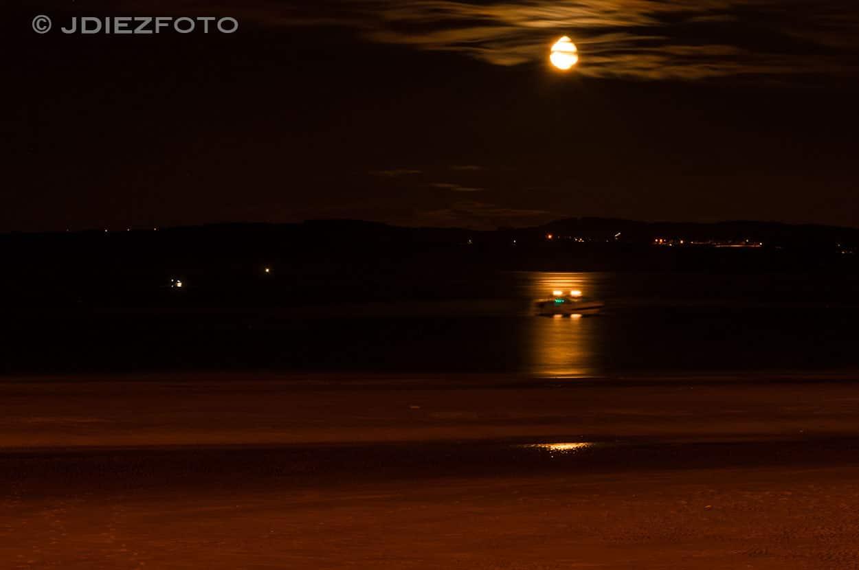 Luna Playa del Sardinero