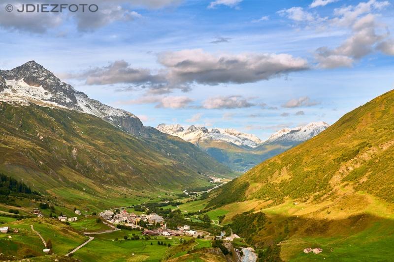 Alpes Suizos desde Hospental