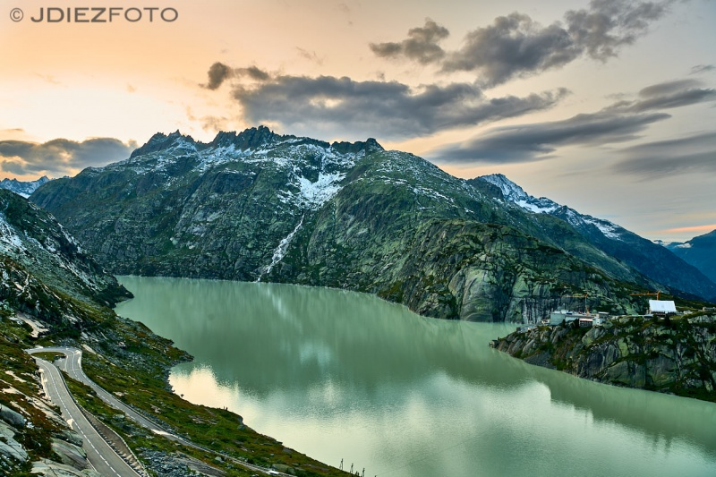 Lago Grimselsee Suiza