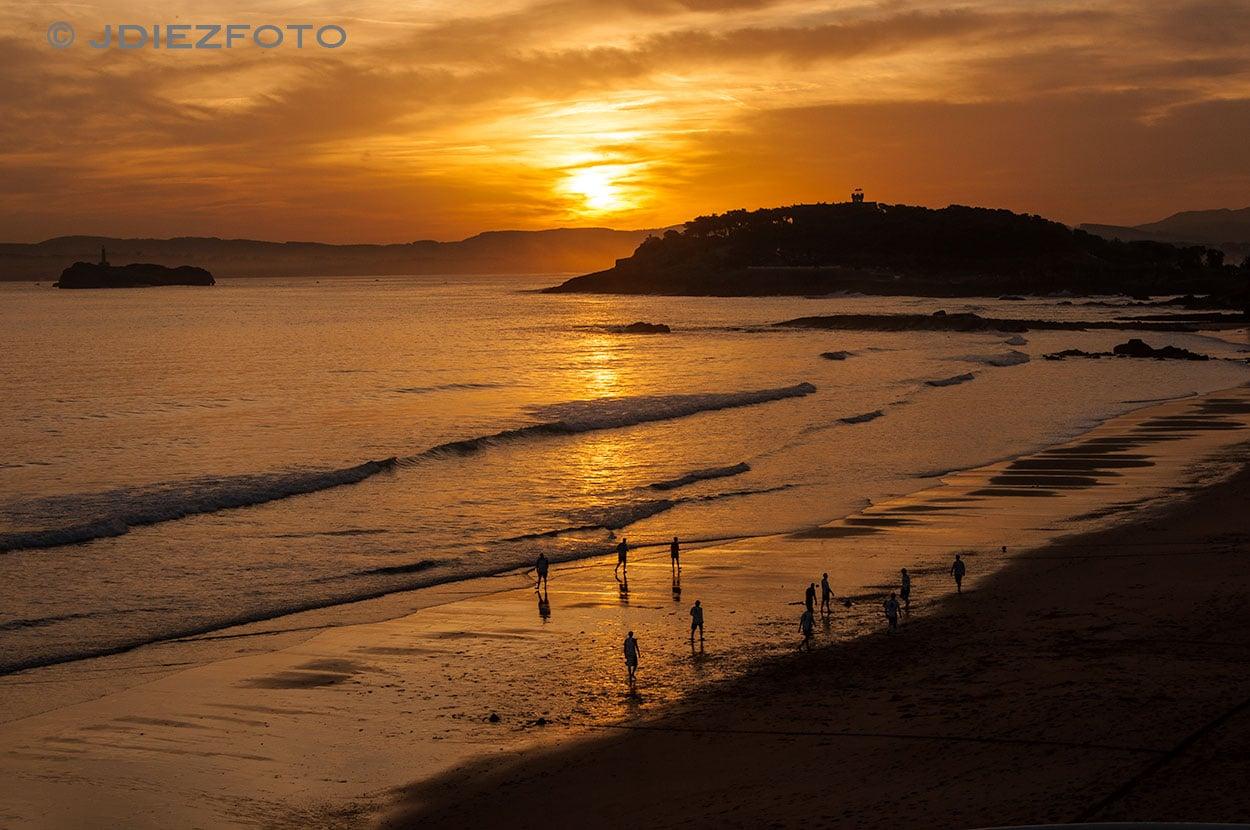 Amanencer Playa del Sardinero