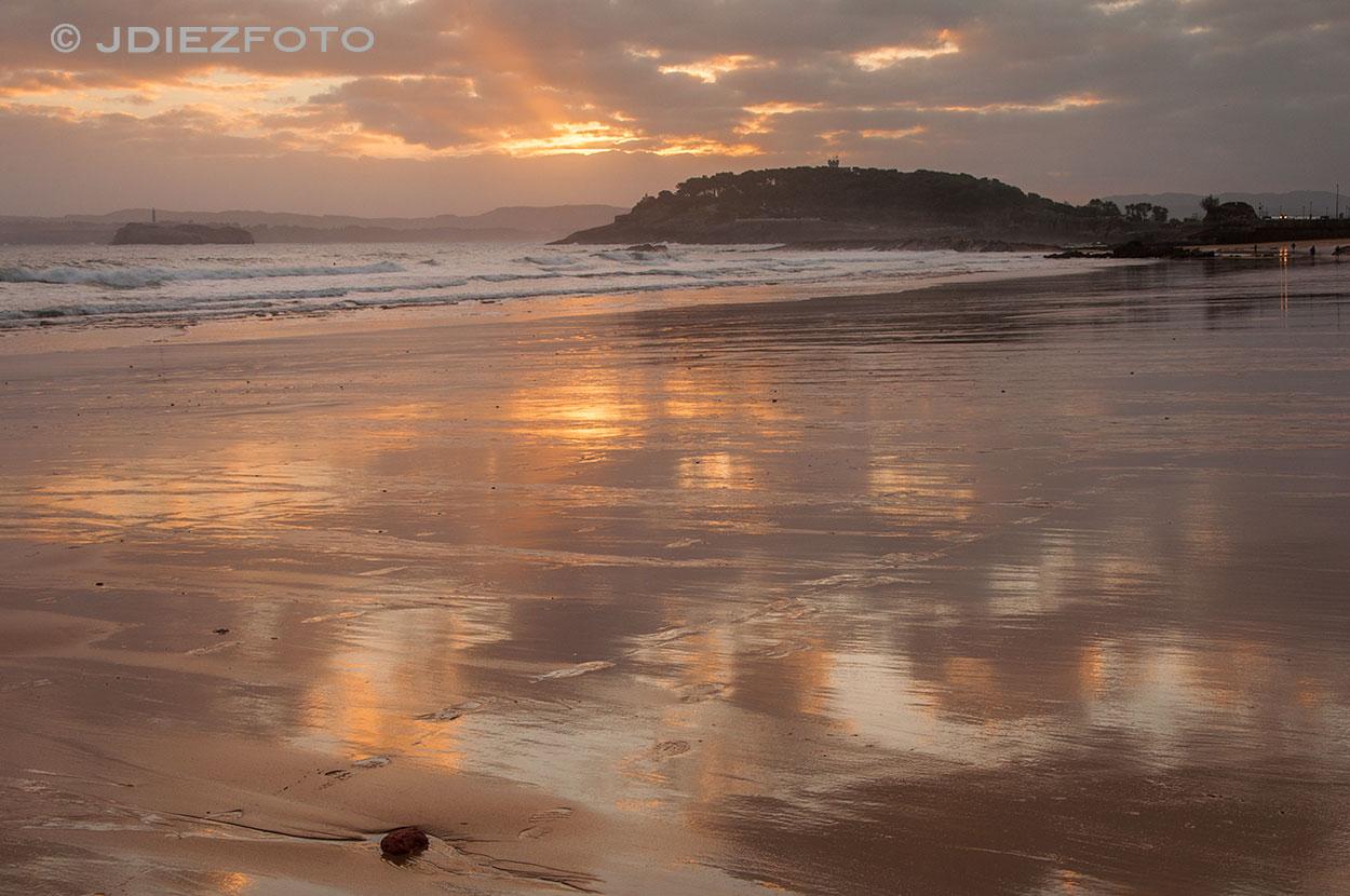 Amanecer Primera Playa del Sardinero