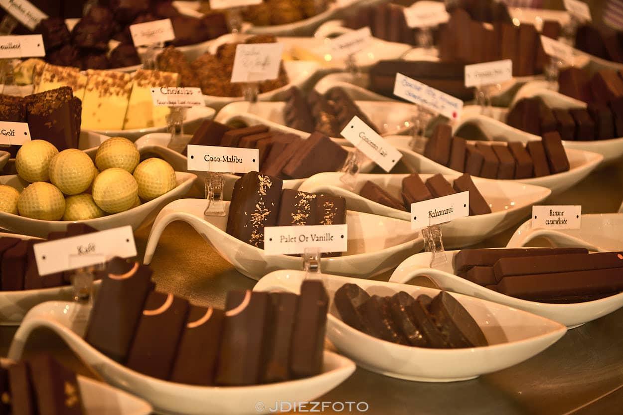 Chocolaterías de Bayona