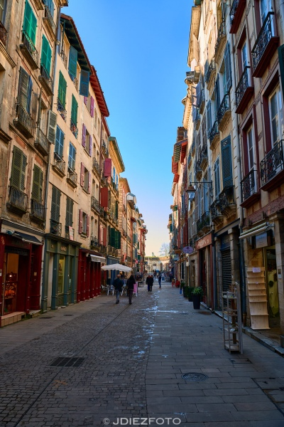 Rue de Espagne Bayona