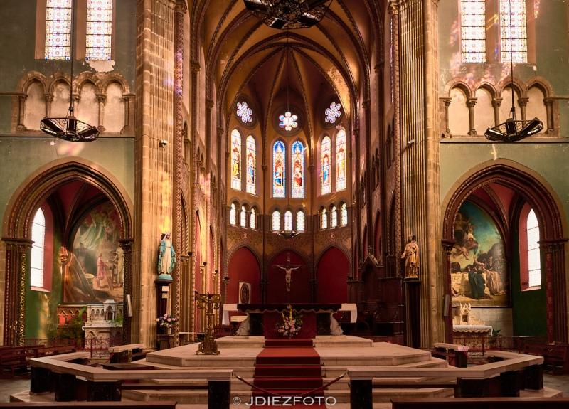 Altar de la Iglesia de San Andrés