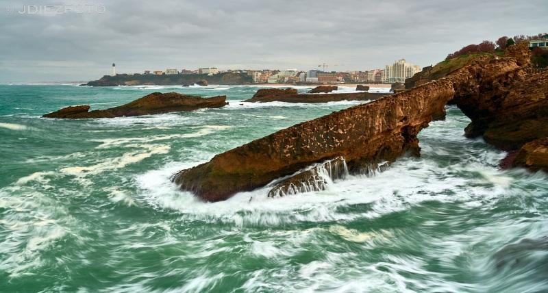 Roca de la Virgen en Biarritz