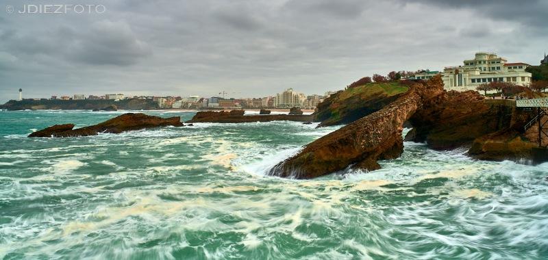 Rocher de la Vierge. Biarritz