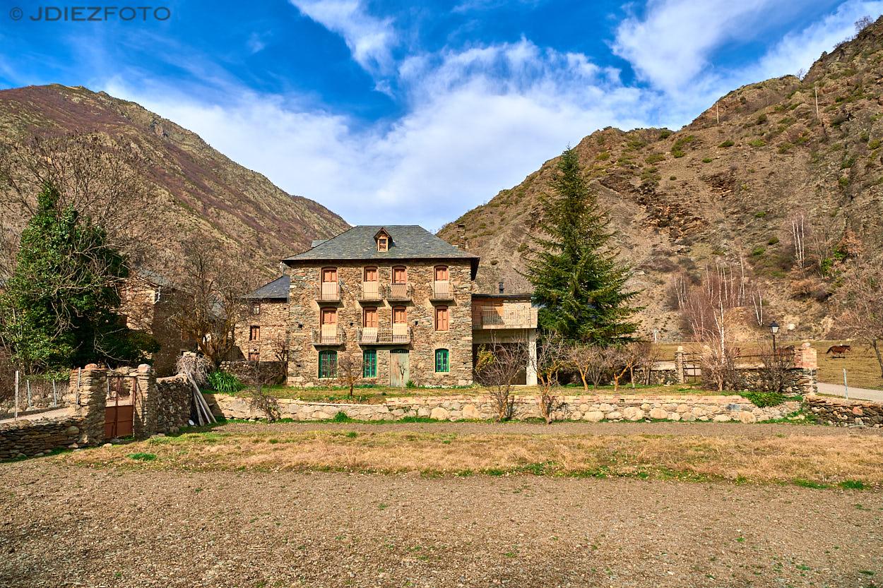 Pueblo de Borén. Pallars Sobirá