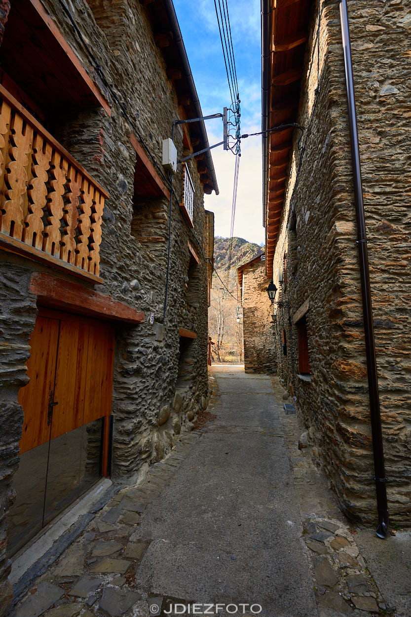 Calles de Borén. Pallars Sobirá