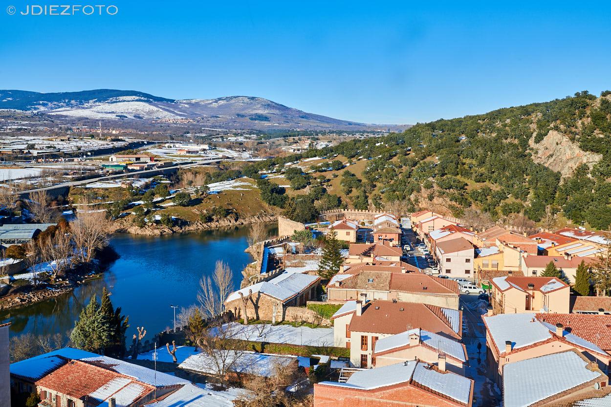 Vistas desde la Iglesia de Santa María del Castillo. Buitrago de Lozoya