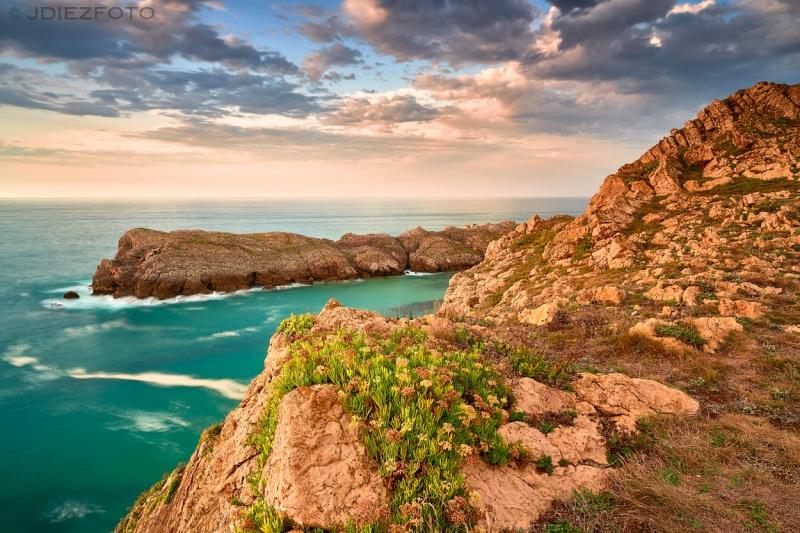 Acantilados de la Costa Quebrada de Cantabria