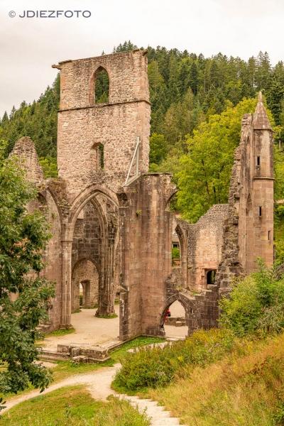 Ruinas de Allerheiligen. Selva Negra