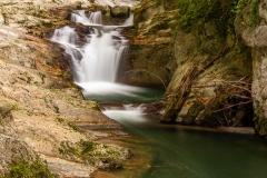 Cascada El Cubo. Selva de Irati