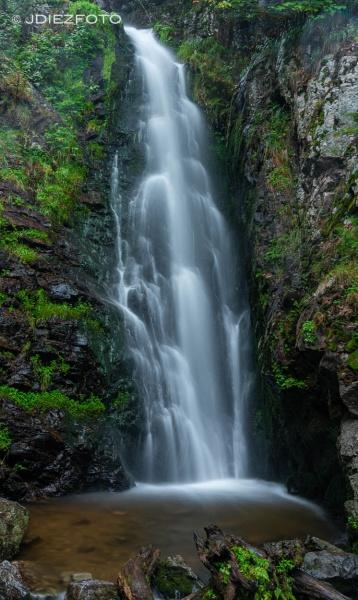 Cascada Todtnauer. Selva Negra