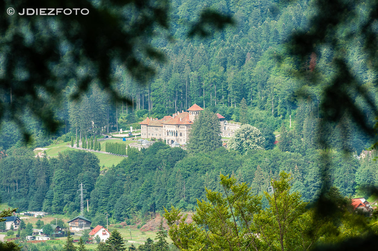 Castillo de Cantacuzino. Busteni