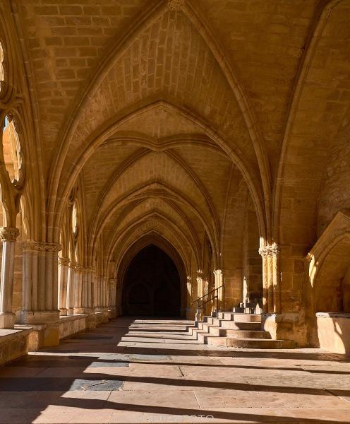 Pasillo del Claustro de la Catedral de Santa María