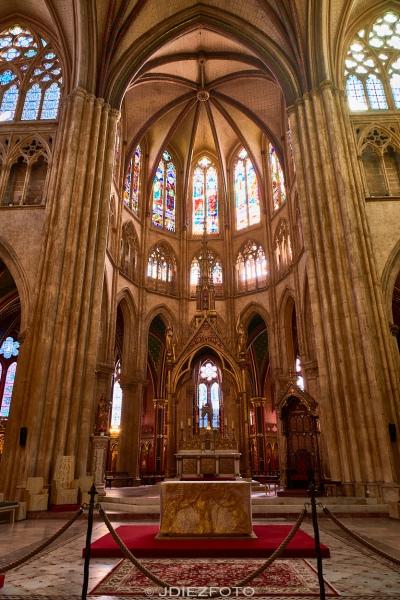 Interior de la Catedral de Santa María de Bayona