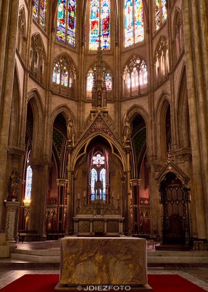 Altar de la Catedral de Santa María de Bayona