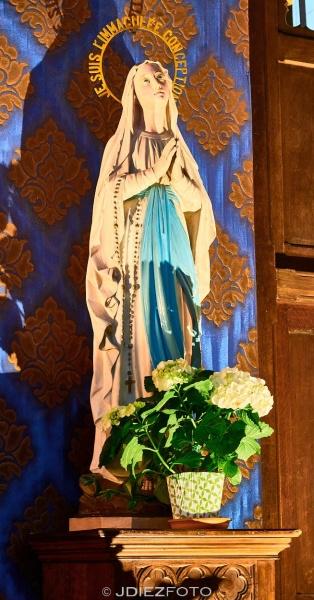 Virgen de la Catedral de Santa María de Bayona