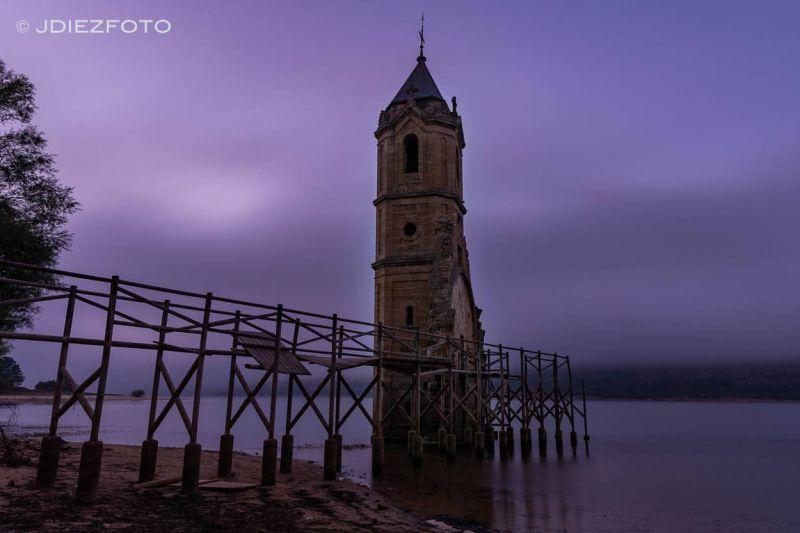 Catedral de Peces. Embalse del Ebro