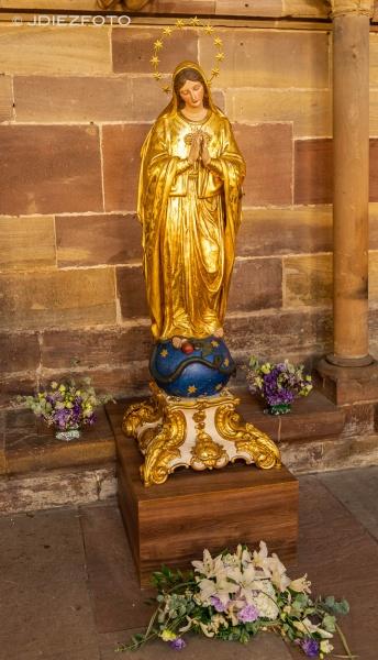 Virgen Catedral Estrasburgo