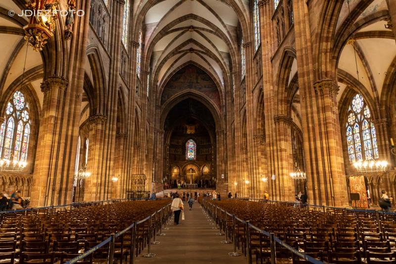 Interior Catedral Estrasburgo