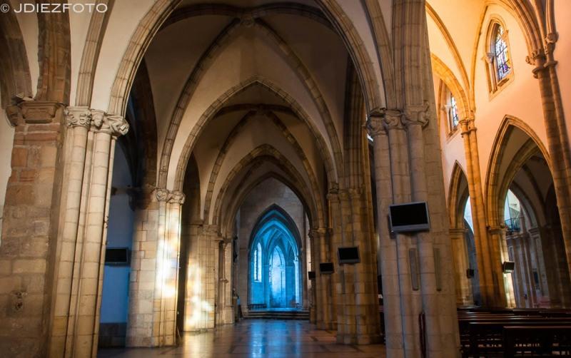 Nave norte de la Catedral de Santander
