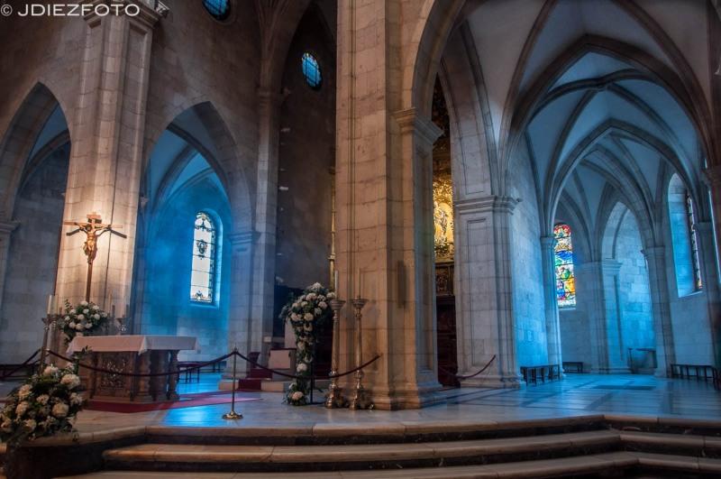 Girola de la Catedral de Santander