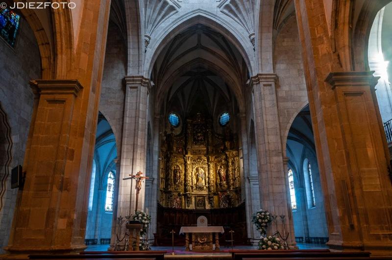 Altar de la Catedral de Santander