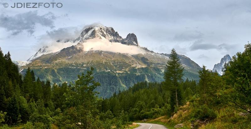 Monte de Mont Blanc desde Chamonix